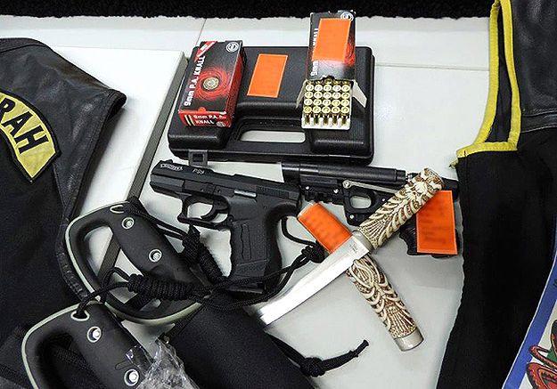 Niemiecka policja rozbiła przestępczą organizację rockersów Satudarah