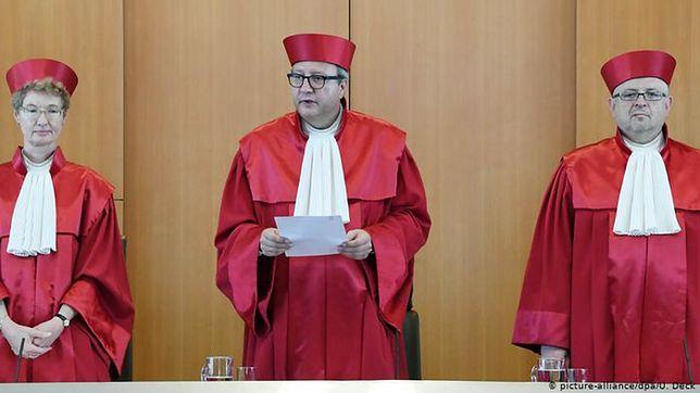 Sędzia niemieckiego TK: Dostaliśmy brawa z niewłaściwej strony