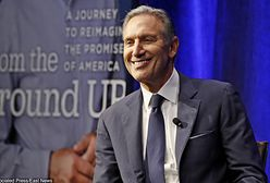 """USA: Były szef Starbucksa chce zostać prezydentem. """"Problemy Ameryki można rozwiązać po odejściu od """"partyjnej polityki"""""""""""