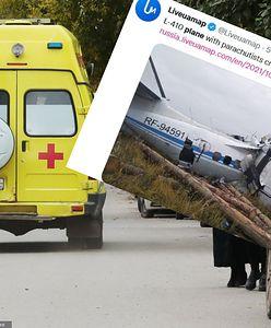 Katastrofa lotnicza w Rosji. Rozbił się samolot