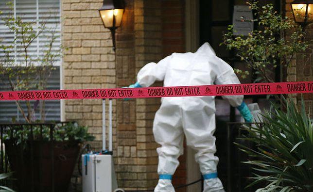Mieszkanie pielęgniarki, u której stwierdzono wirusa Ebola