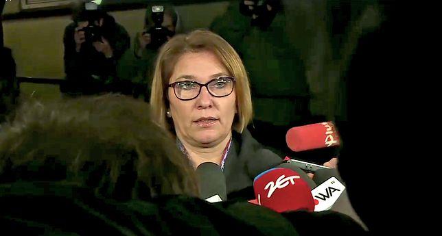 Beata Mazurek skomentowała wyrok Trybunału Konstytucyjnego ws. aktu łaski prezydenta