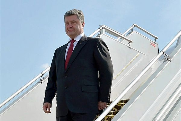 Petro Poroszenko: wojska rosyjskie weszły na Ukrainę