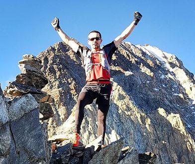 Filip Babicz przebiegł najtrudniejszy szlak w Tatrach w 1 godz. i 4 min.