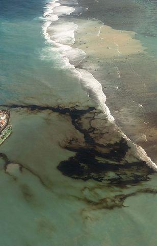 """Mauritius ogłosił """"stan wyjątkowy"""" dla środowiska ze względu na wyciek ropy"""