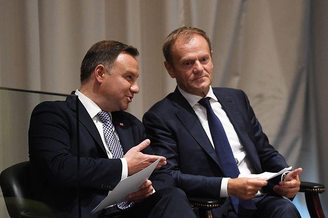 Andrzej Duda mógłby liczyć na zwycięstwo z Donaldem Tuskiem w wyborach prezydenckich