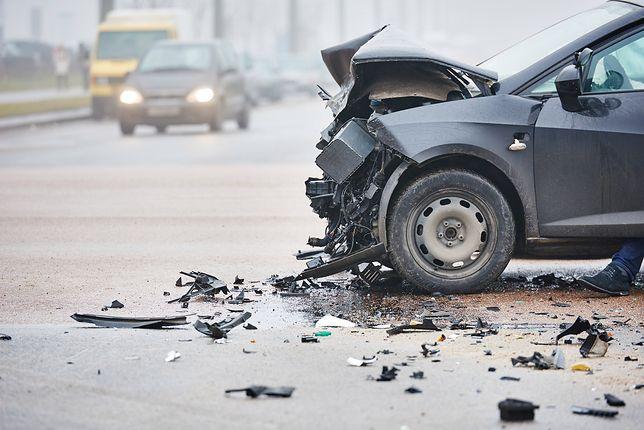 Do wypadków doszło w ciągu ok. pół godziny. Zdjęcie ilustracyjne