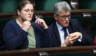 Sędziowie Trybunału Konstytucyjnego Krystyna Pawłowicz i Stanisław Piotrowicz