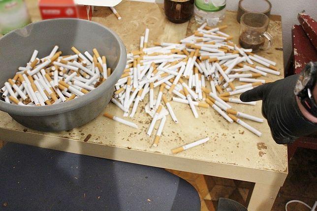 Otwock. Zlikwidowano nielegalną produkcję papierosów