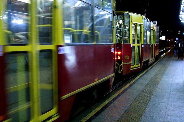 Zderzenie tramwajów na Bielanach. Są poszkodowani
