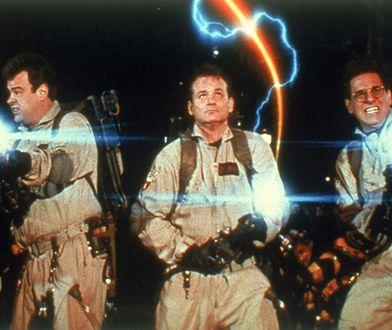 "Dan Aykroyd, Bill Murray, Harold Ramis i Ernie Hudson w filmie ""Pogromcy duchów II"" (1989)"