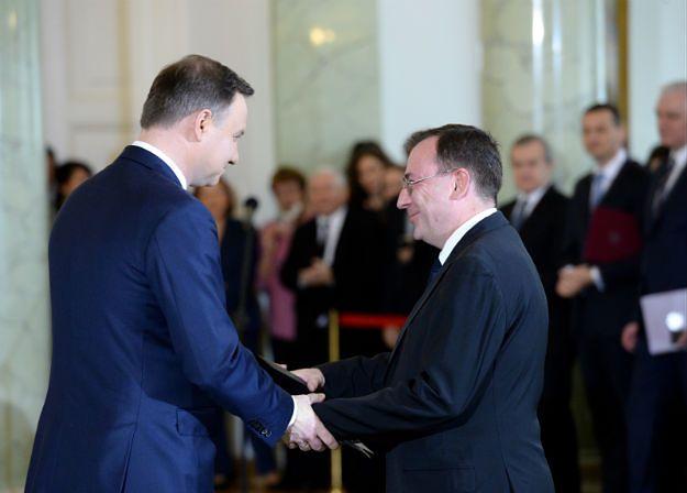 Andrzej Duda ułaskawił byłego szefa CBA Mariusza Kamińskiego