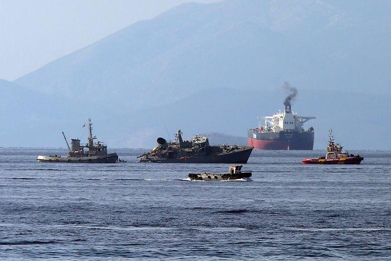 Wypadek niedaleko Pireusu. Polski kapitan wypuszczony na wolność