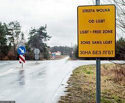 """Sześć polskich miast bez pieniędzy z UE. Przez """"strefy wolne od LGBT"""""""