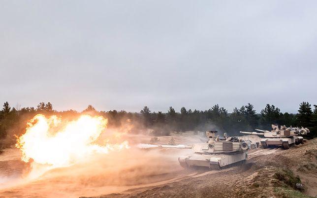 Czołgi M1A2 są w Polsce w ramach wzmocnienia wschodniej flanki NATO