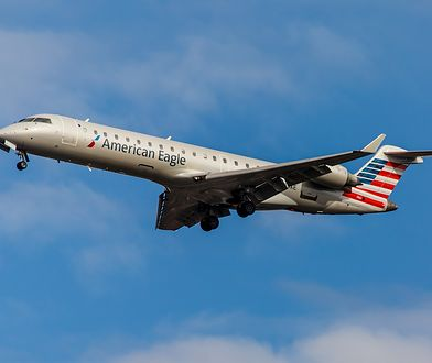 Samolot ześlizgnął się z pasa startowego na lotnisku w Chicago