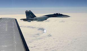 Myśliwiec Su-27 rozbił się w obwodzie żytomierskim