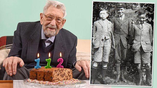 Wielka Brytania. Bob Weighton zmarł w wieku 112 lat. Był najstarszym mężczyzną na świecie