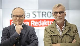 """""""Moja strona. Bitwa redaktorów"""" - Paweł Lisicki kontra Jacek Żakowski. Sędziuje Łukasz Mężyk"""