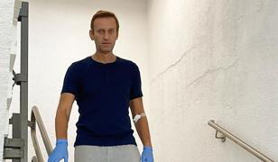 """Aleksiej Nawalny zabiera głos ws. otrucia. """"Stał za tym Putin"""""""