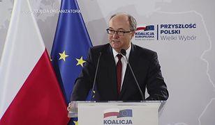 """Włodzimierz Czarzasty na konwencji KE. """"Przestań bawić się Polską"""""""