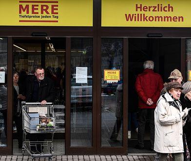 Otwarcie rosyjskiego dyskontu Mere w Niemczech.