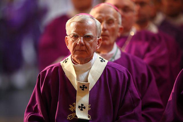 Abp Marek Jędraszewski podczas nabożeństwa w Kalwarii Zebrzydowskiej