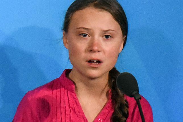 Greta Thunberg na szczycie ONZ