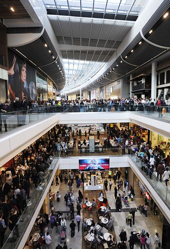 Największe centrum handlowe w Europie - zdjęcia