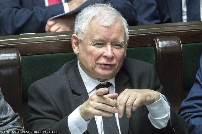 Jarosław Kaczyński triumfuje po wyborach do Parlamentu Europejskiego