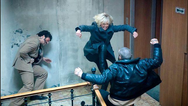 "Kadr z filmu ""Atomic Blonde"", reż. David Leitch"