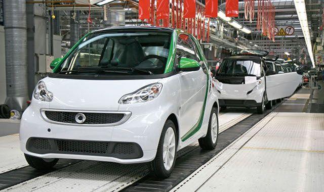 Elektryczny Smart: ruszyła produkcja