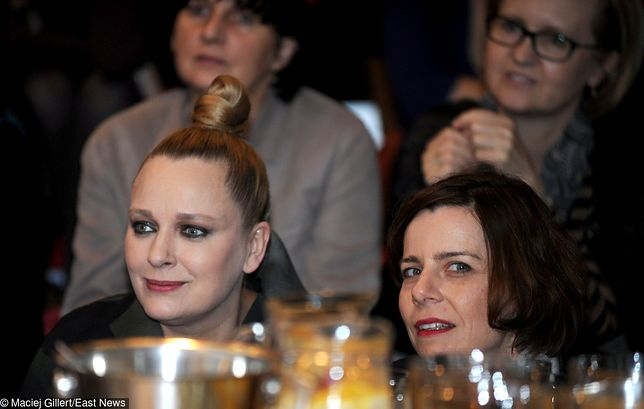 Katarzyna Nosowska i Agata Kulesza znają się od czasów podstawówki