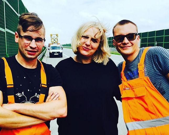 Kasia Nosowska szybko znalazła pomoc