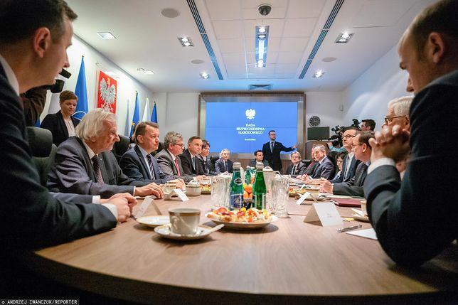 Wybory prezydenckie. Rada Bezpieczeństwa Narodowego