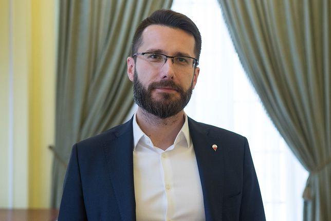 Radosław Fogiel skomentował profil na Twitterze Magdaleny Adamowicz