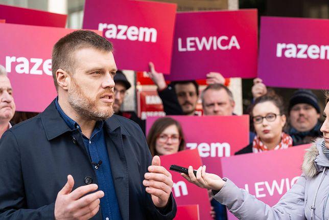 Adrian Zandberg, Lewica Razem