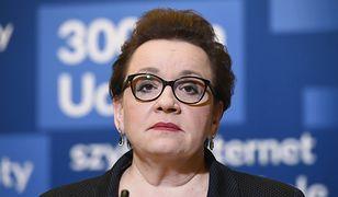 PO chce na posiedzeniu Komisji Edukacji wyjaśnień od Anny Zalewskiej ws. kryzysu w oświacie