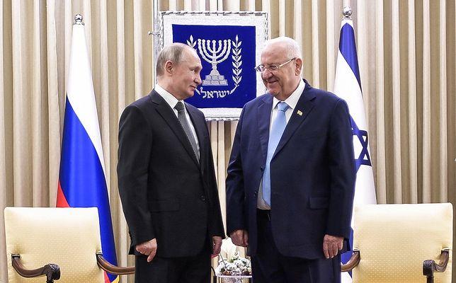 Do Izraela przyleciał Władimir Putin. Podjęto go z honorami