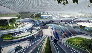 CPK Koncepcja Zaha Hadid Architects