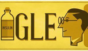 Google Doodle świętuje urodziny odkrywcy insuliny