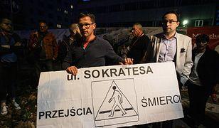 Protest mieszkańców po tragicznym wypadku na ul. Sokratesa