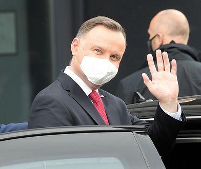 Urzędujący prezydent Andrzej Duda.