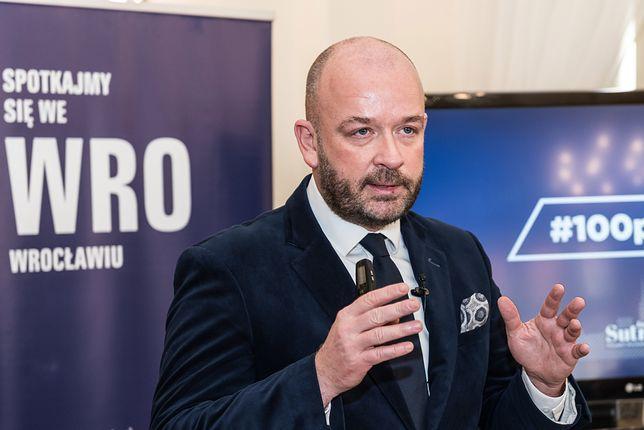 Jacek Sutryk, prezydent Wrocławia