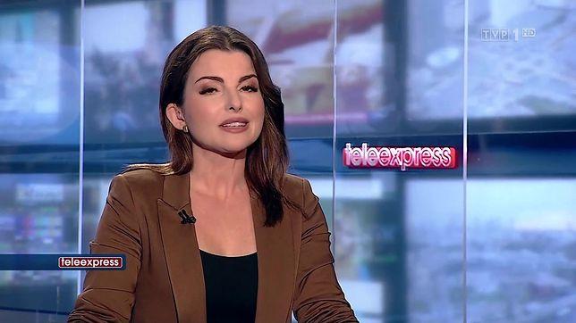 """Beata Chmielewska-Olech od lat jest jedną z twarzy """"Teleexpressu"""""""