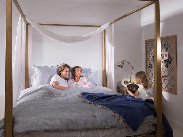 Aranżacja sypialni: kolor ścian