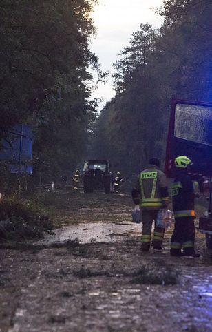 Burze nad Polską. Straż pożarna podsumowuje interwencje