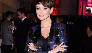 Dorota Gardias w modnym swetrze