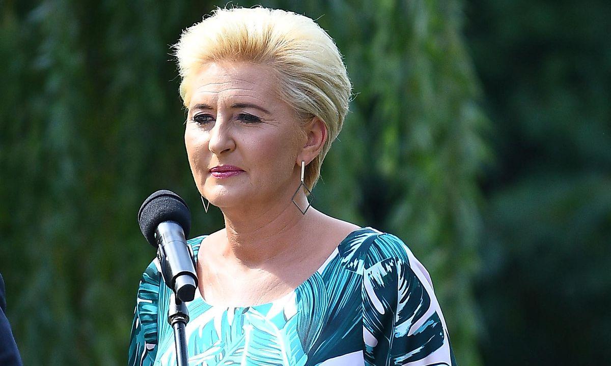 Agata Kornhauer-Duda opowiedziała o wcześniakach.