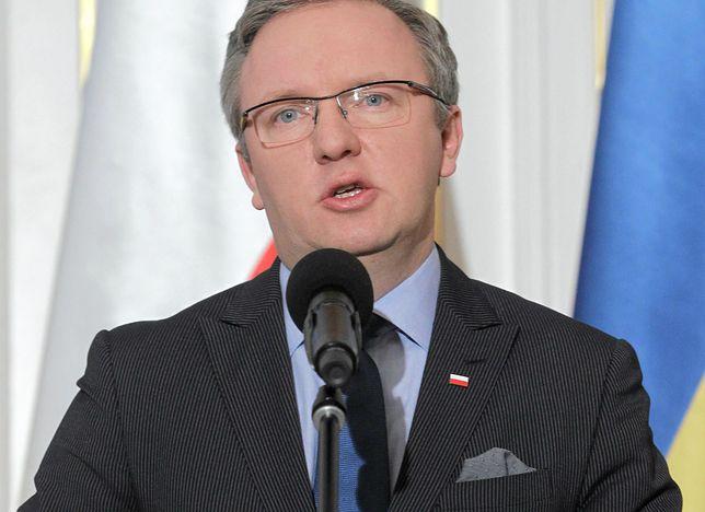 Krzysztof Szczerski zarzuca Niemcom na szkodę Polski